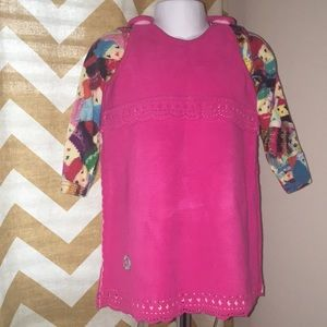 Oilily Fleece Dress w/Shirt